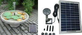 Solar garden & home features