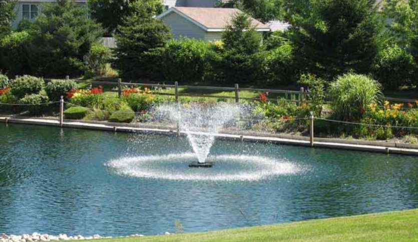 Solar fountains for garden pond & pool