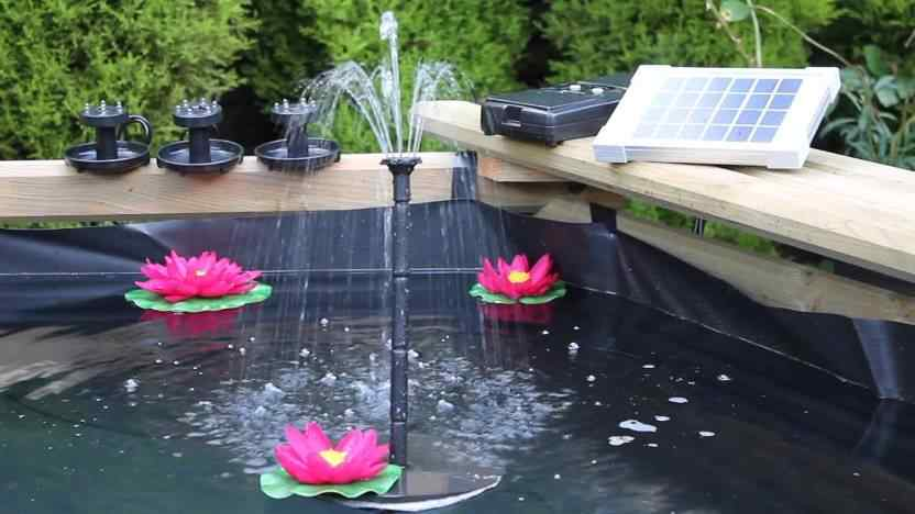 Solar powered water fountains - Sunny Bunny Solar
