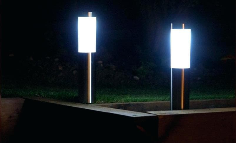 LED Solar lamp post is perfect solution for a garden landscape