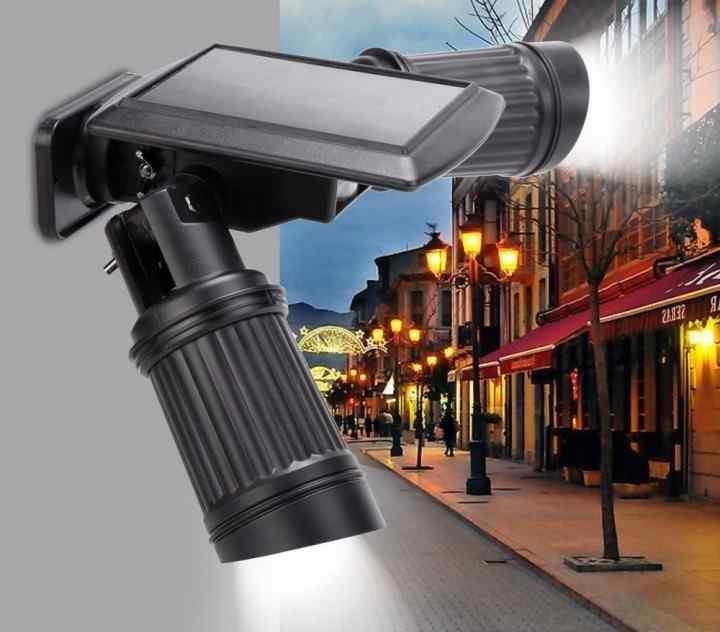 Solar sensor spot light