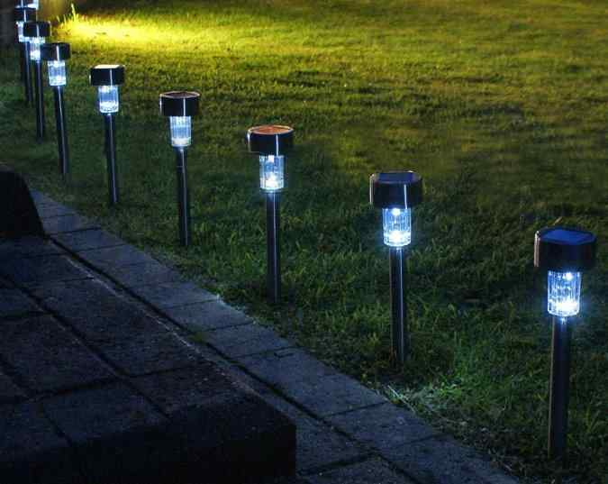 Solar Path Lights can transform an outdoor area