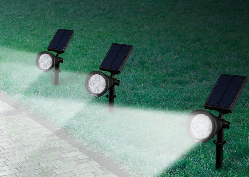 What makes LED Solar Spotlights so Special