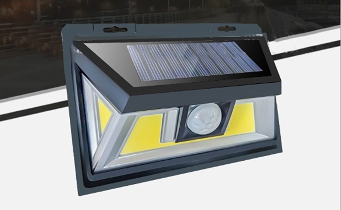 Outdoor LED Solar sensor security light